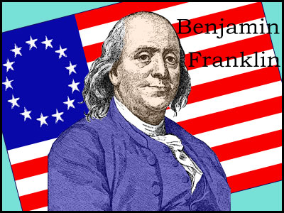 benjamin franklin information for kids