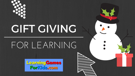 Gift giving for learning