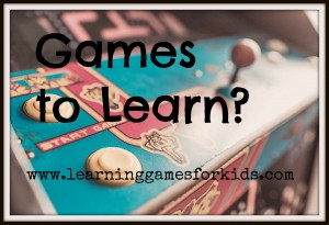 LGFK games to learn