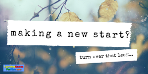 Making a New Start?