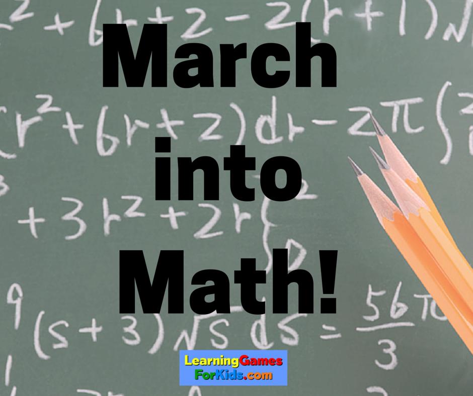 LGFK march into math
