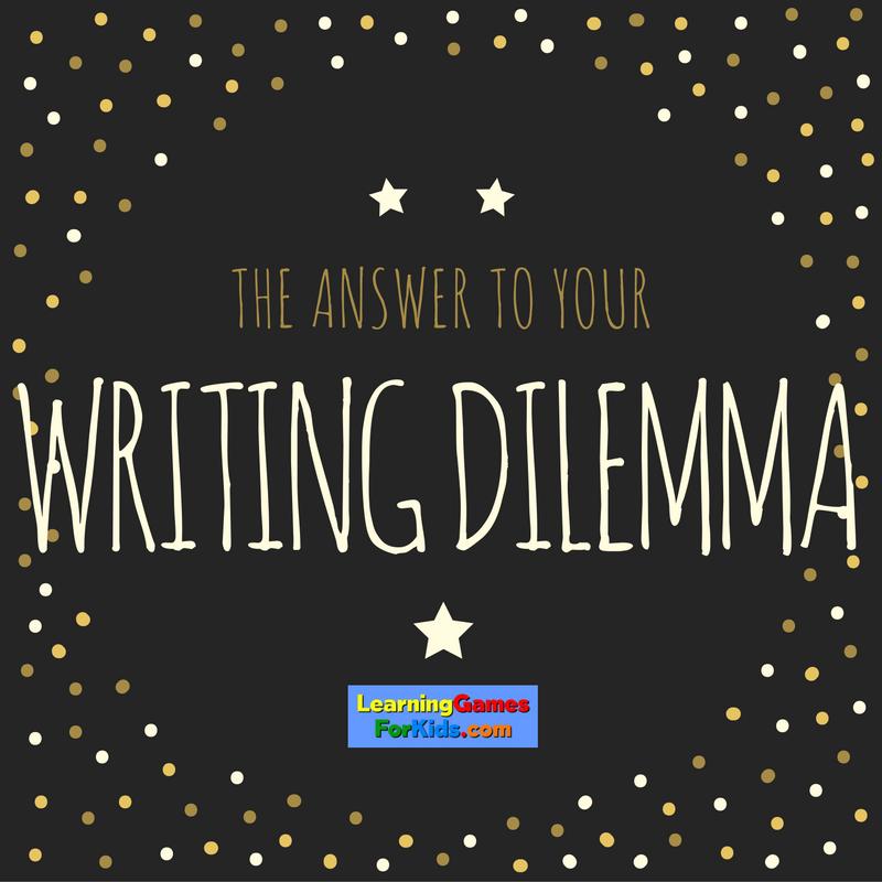 LGFK writing dilemma
